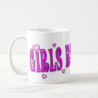 ¡Regla de los chicas! ¡Drool de los muchachos! Taza De Café