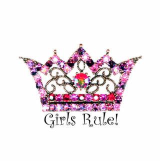 ¡Regla de los chicas! Escultura de la tiara Escultura Fotografica