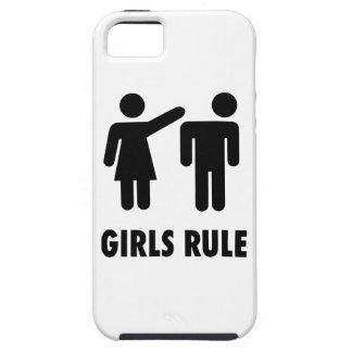Regla de los chicas iPhone 5 funda