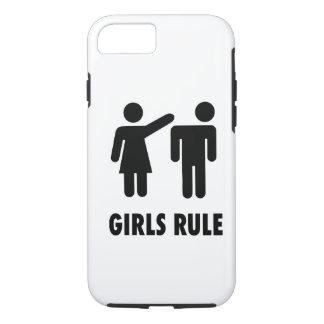Regla de los chicas funda iPhone 7