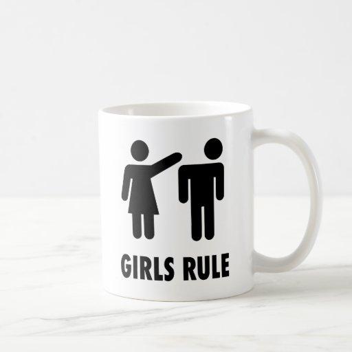 Regla de los chicas tazas de café