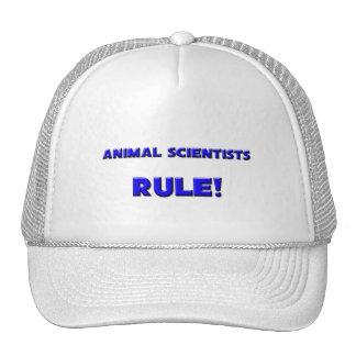 ¡Regla de los científicos animales Gorros