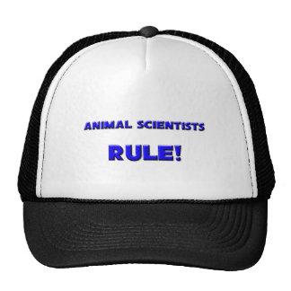 ¡Regla de los científicos animales Gorros Bordados