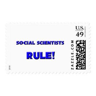 ¡Regla de los científicos sociales! Franqueo