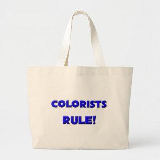 ¡Regla de los Colorists! Bolsas Lienzo