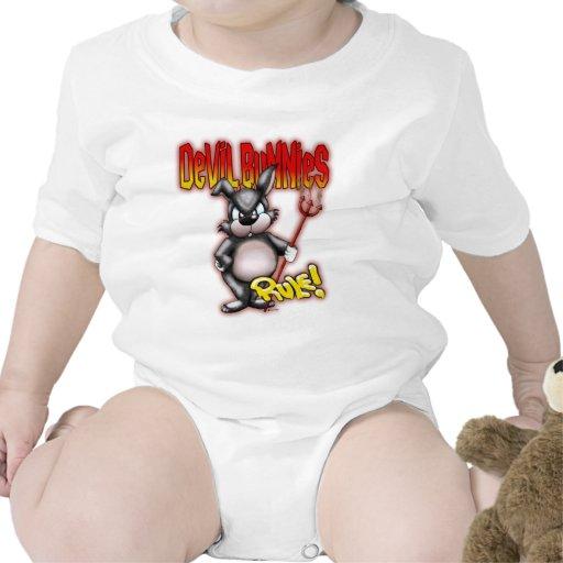 Regla de los conejitos del diablo camiseta