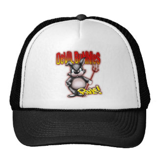 Regla de los conejitos del diablo gorras