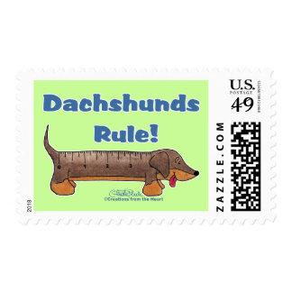 Regla de los Dachshunds Franqueo