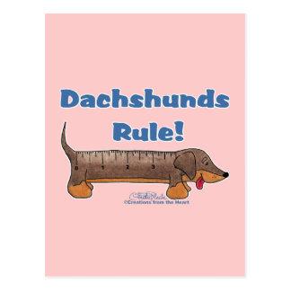 Regla de los Dachshunds Postal