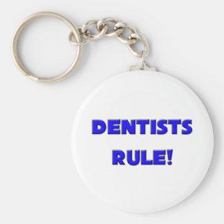 ¡Regla de los dentistas! Llavero Redondo Tipo Pin