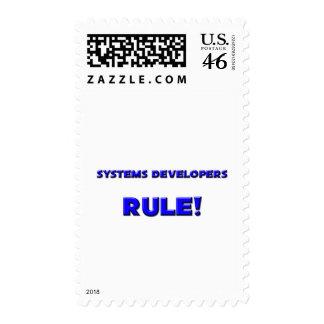 ¡Regla de los desarrolladores de los sistemas