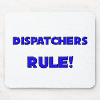 ¡Regla de los despachadores! Tapetes De Ratón
