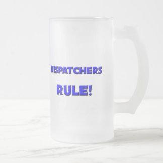 ¡Regla de los despachadores! Taza De Café