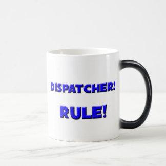 ¡Regla de los despachadores! Tazas De Café