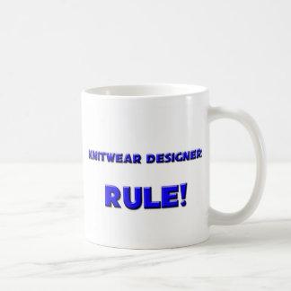 ¡Regla de los diseñadores de los géneros de punto! Tazas De Café