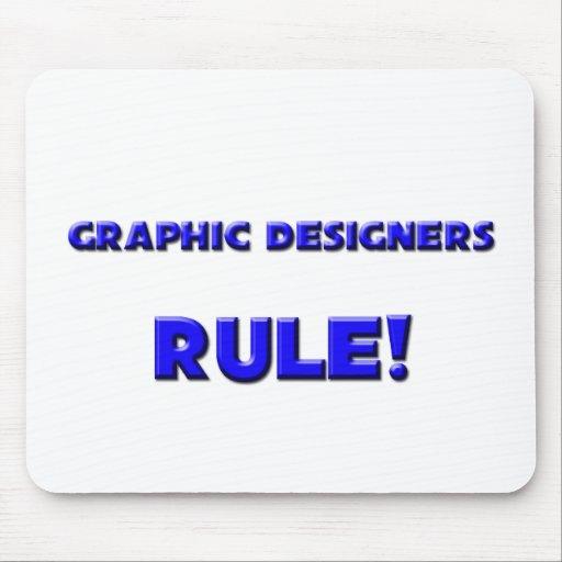 ¡Regla de los diseñadores gráficos! Alfombrilla De Raton