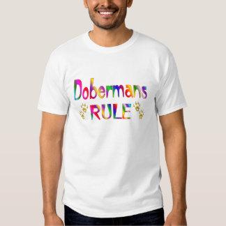 Regla de los Dobermans Playera