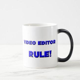 ¡Regla de los editores de vídeo! Tazas De Café