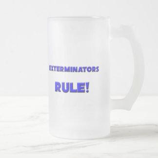 ¡Regla de los Exterminators! Tazas