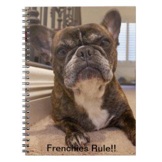 ¡Regla de los Frenchies!! Cuaderno