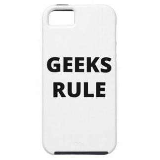 Regla de los frikis funda para iPhone 5 tough