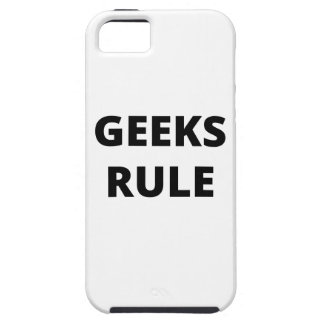 Regla de los frikis funda para iPhone 5 tough