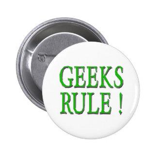 ¡Regla de los frikis Verde Pins