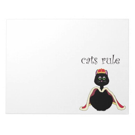 Regla de los gatos blocs de notas