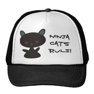 ¡Regla de los gatos de Ninja! Gorro