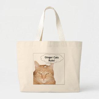 ¡Regla de los gatos del jengibre! Bolsa