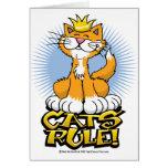 Regla de los gatos felicitación
