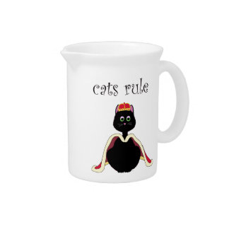 Regla de los gatos jarras para bebida