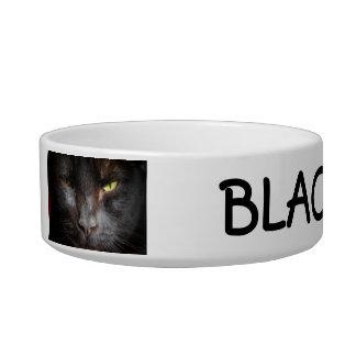 ¡Regla de los gatos negros! Comedero Para Mascota