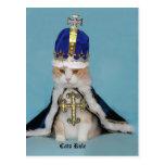 Regla de los gatos tarjetas postales