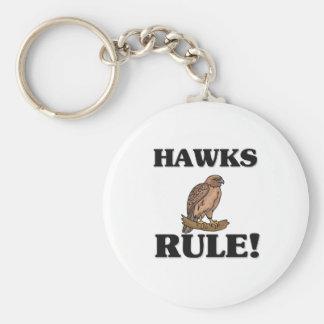 ¡Regla de los HALCONES Llaveros Personalizados
