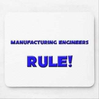¡Regla de los ingenieros de fabricación! Alfombrilla De Ratones