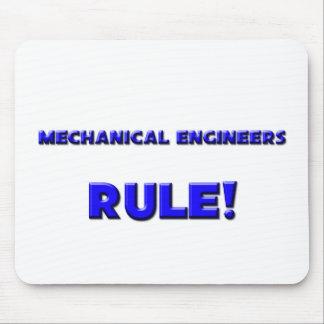 ¡Regla de los ingenieros industriales Tapetes De Raton