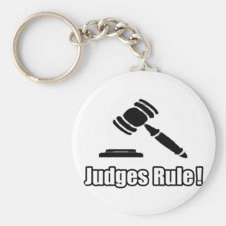 ¡Regla de los jueces! Llavero Personalizado