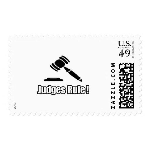 ¡Regla de los jueces! Sellos