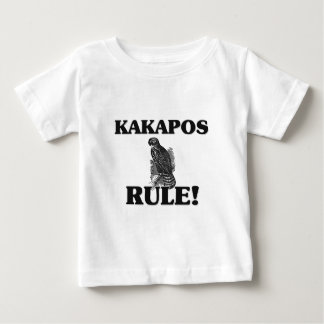 ¡Regla de los KAKAPOS! Playera Para Bebé