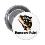 ¡Regla de los mapaches! Pin