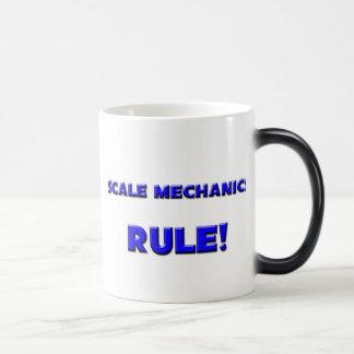 ¡Regla de los mecánicos de la escala! Tazas