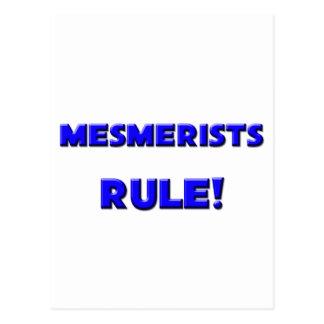 ¡Regla de los Mesmerists! Postal