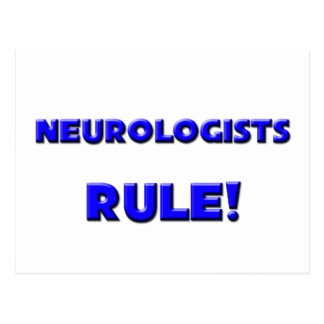 ¡Regla de los neurólogos! Postales