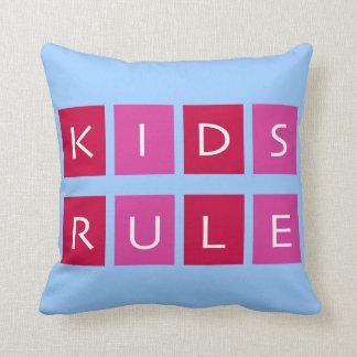 Regla de los niños almohada