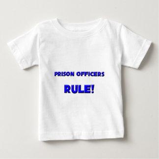 ¡Regla de los oficiales de prisión! Poleras