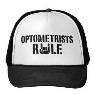 Regla de los optometristas gorra