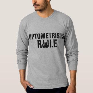 Regla de los optometristas playera