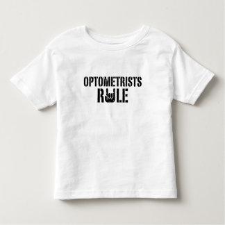 Regla de los optometristas playera de bebé