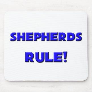 ¡Regla de los pastores Alfombrillas De Ratones